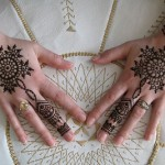 Latest and Beautiful Arabic Mahndi Designs Collection 2012 For Girls (7)