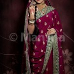 Mansha Bridal Lehenga Wedding Saree Frocks Dress Collection 2012-13 For Women 001