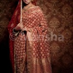 Mansha Bridal Lehenga Wedding Saree Frocks Dress Collection 2012-13 For Women 002