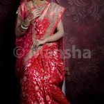Mansha Bridal Lehenga Wedding Saree Frocks Dress Collection 2012-13 For Women 003