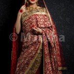 Mansha Bridal Lehenga Wedding Saree Frocks Dress Collection 2012-13 For Women 004