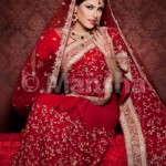 Mansha Bridal Lehenga Wedding Saree Frocks Dress Collection 2012-13 For Women 005