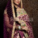 Mansha Bridal Lehenga Wedding Saree Frocks Dress Collection 2012-13 For Women 006