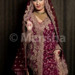 Mansha Bridal Lehenga Wedding Saree Frocks Dress Collection 2012-13 For Women 007