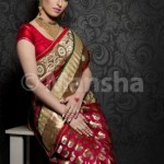 Mansha Bridal Lehenga Wedding Saree Frocks Dress Collection 2012-13 For Women 008