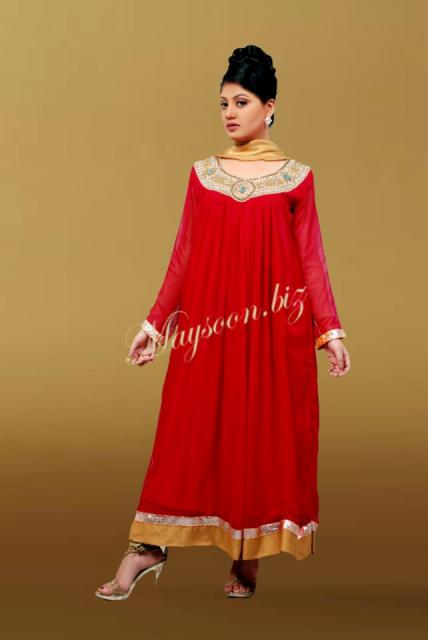 Maysoon Latest Party Wear Dresses 2012 for Women