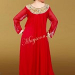 Maysoon Latest Party Wear Formal Dress Collection 2012-13 for Girls (2)