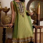 Mehndi Day Bridal Dresses FallWinter Collection 2013 by Saadia Asad