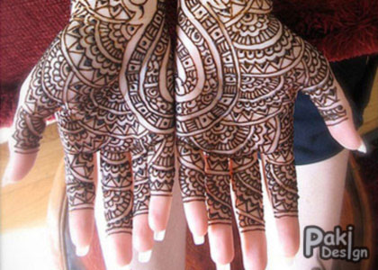 Mehndi Design 2012 Best Pattern