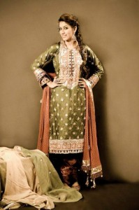 Mohsin Naveed Ranjha Latest Formal Outfits 2012-13 For Women