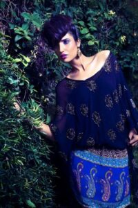 Momina Teli Latest Stunning Dresses Collection 2012 For Sunday Times
