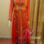 Nadya Visage Latest Party Wear Dress Collection 2012 For Girls