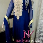 Nadya Visage Latest Party Wear Dress Collection 2012 For Women