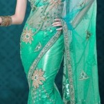 Nakshatra Designerwear Latest & Beautiful Bridal Saree Collection 2012-2013 (10)