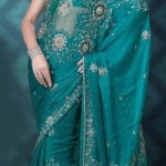 Nakshatra Designerwear Latest & Beautiful Bridal Saree Collection 2012-2013 (4)