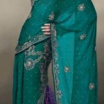 Nakshatra Designerwear Latest & Beautiful Bridal Saree Collection 2012-2013 (6)