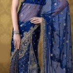Nakshatra Designerwear Latest & Beautiful Bridal Saree Collection 2012-2013 (8)