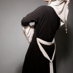 New abaya with belt Fashion Trend 2012