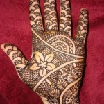 Pakistani Mehndi Design 2012 Pattern