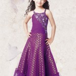 Pretty Violet Long Gown