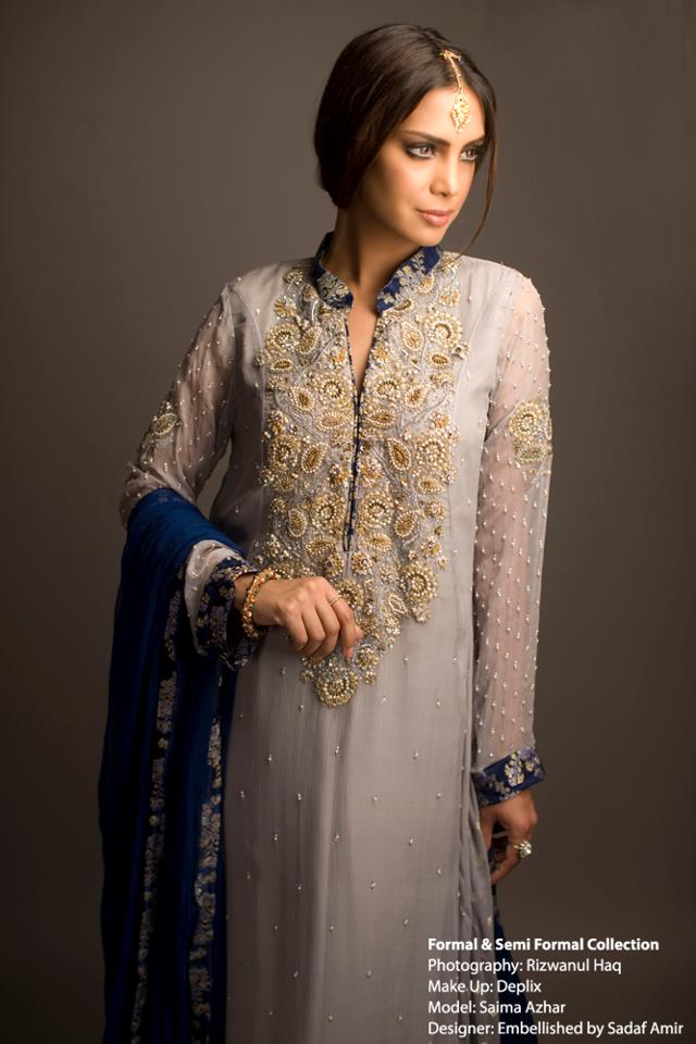 Sadaf Amir Winter Fall Party Wear Dress Collection 2012 For Women (1)