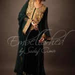 Sadaf Amir Winter Fall Party Wear Dress Collection 2012 For Women (5)