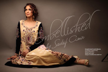 Sadaf Amir Winter Fall Party Wear Dress Collection 2012 For Women (6)