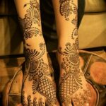 Stylish Mehndi fashion 2012