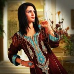 Vibgyor by Syra Party Wear Winter Dress Collection 2012 for Women (6)