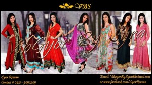 Vibgyor by Syra Party Wear Winter Dresses 2012 for Women (1)