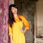 Women Kurtas Collection 2012 teena by hina butt