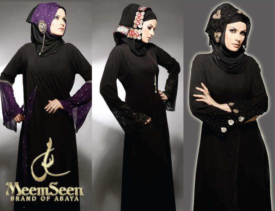 abaya with belt Fashion Trend 2012 by Meem Seen