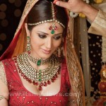 Latest Pakistani bridal jewelry new sets 001