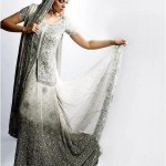 indian bridal wear white
