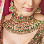 latest bridal jewelry gold sets