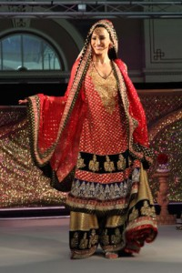 pakistani designer bridal dress 008