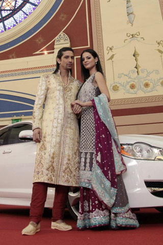 pakistani designer bridal dress 009