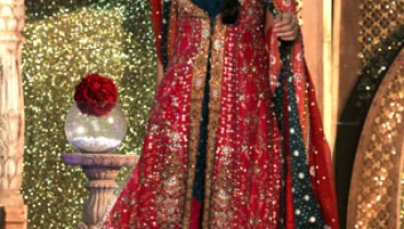 pakistani designer bridal dress