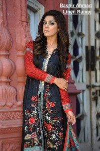 Bashir Ahmad Linen 2012 Collection For Women 001