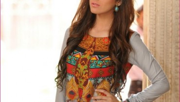 Bashir Ahmad Linen 2012 Collection For Women