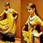 Beautiful Mehndi Dresses 2012 For Pakistani Woman Wedding By Ethnic Couture 001
