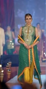 Beautiful Mehndi Dresses 2012 For Pakistani Woman Wedding By Ethnic Couture 0011