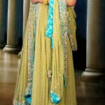 Beautiful Mehndi Dresses 2012 For Pakistani Woman Wedding By Ethnic Couture 0013