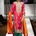 Beautiful Mehndi Dresses 2012 For Pakistani Woman Wedding By Ethnic Couture 0015