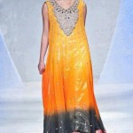 Beautiful Mehndi Dresses 2012 For Pakistani Woman Wedding By Ethnic Couture 0016