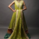 Beautiful Mehndi Dresses 2012 For Pakistani Woman Wedding By Ethnic Couture 0018