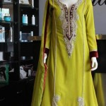 Beautiful Mehndi Dresses 2012 For Pakistani Woman Wedding By Ethnic Couture 004