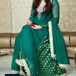 Beautiful Mehndi Dresses 2012 For Pakistani Woman Wedding By Ethnic Couture 005