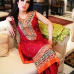 Beautiful Mehndi Dresses 2012 For Pakistani Woman Wedding By Ethnic Couture 006