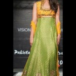 Beautiful Mehndi Dresses 2012 For Pakistani Woman Wedding By Ethnic Couture 008
